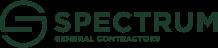 spectrum general contractors green logo